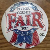 Becker County Fair 2017 logo